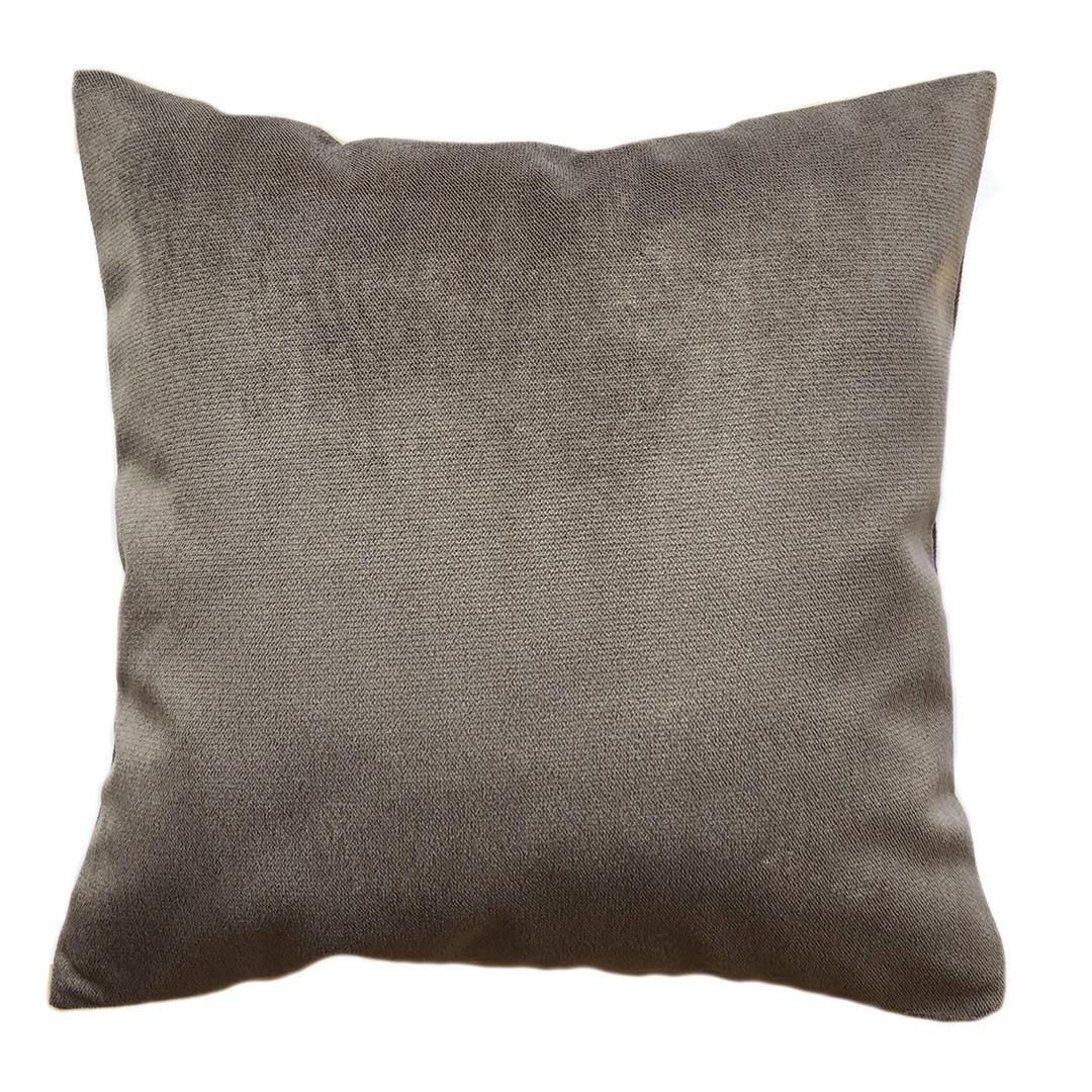 Подушка коричневого, шоколадного цвета чехол для декоративной подушки fresh rose 45х45 см p302 8791 5