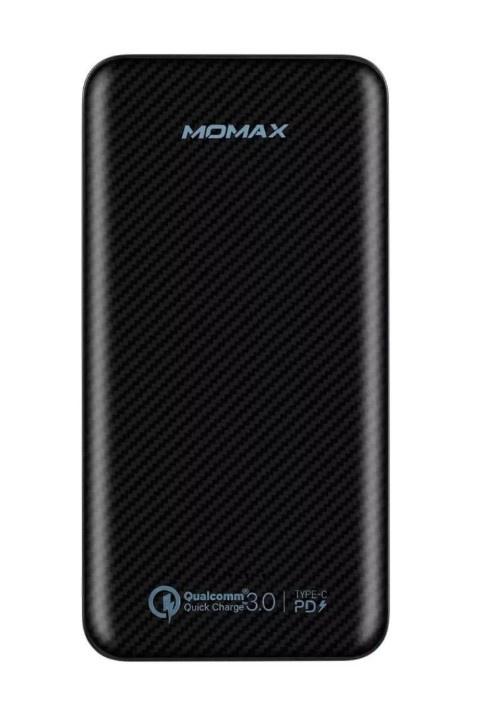 купить Внешний аккумулятор Momax iPower Minimal PD Quick Charge 10000 mAh, черный онлайн