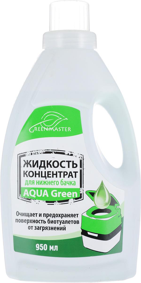 Средсто для биотуалетов Greenmaster, нижнего бачка, 950 мл