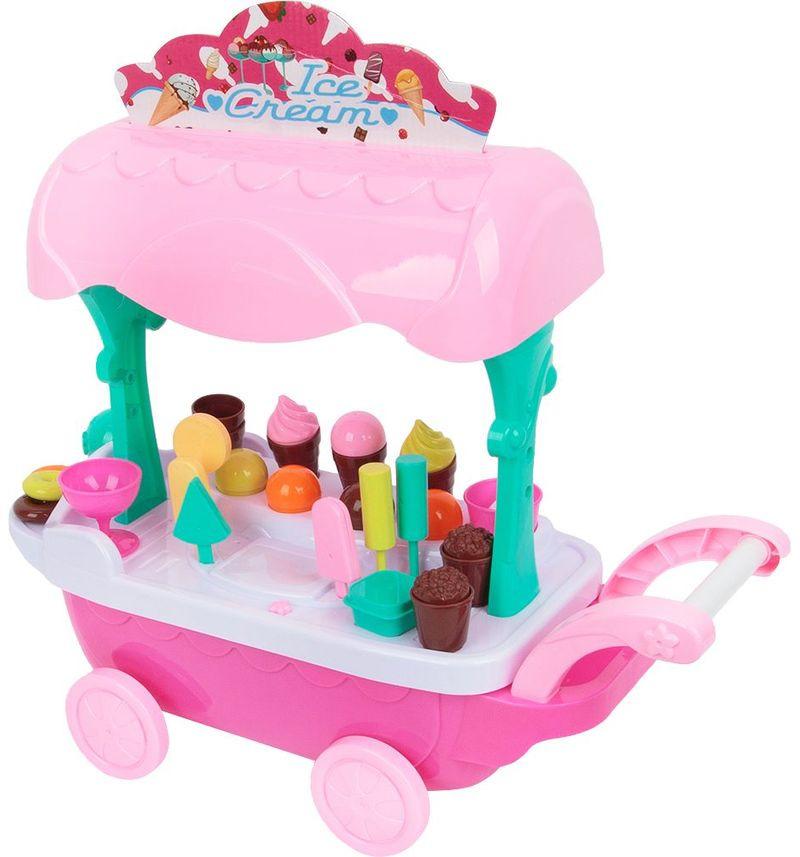 Сюжетно-ролевые игрушки Игруша Тележка с десертами, ES-XS-14090 цена в Москве и Питере