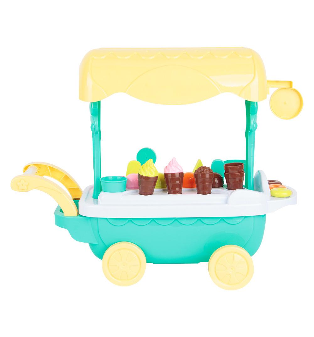 Сюжетно-ролевые игрушки Игруша Тележка с десертами, ES-XS-14089 цена в Москве и Питере