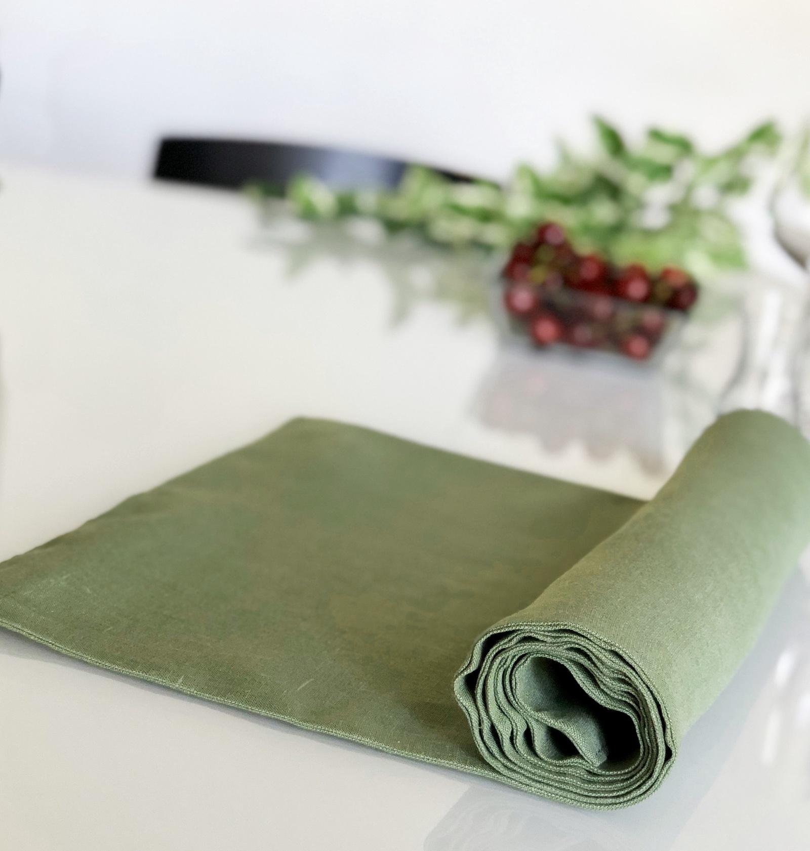 Дорожка для стола Impression Style 0169, светло-зеленый стоимость