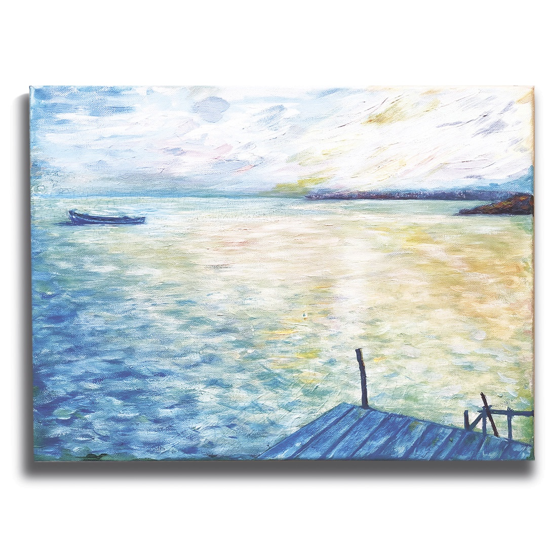 цена на Картина Impression Style 0114, Холст, Дерево