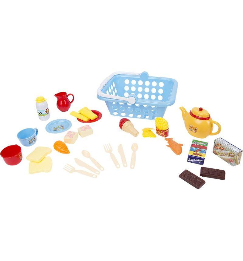 Сюжетно-ролевые игрушки Игруша Кухня, с посудой и продуктами, I-NF594-41 деревянные игрушки letoyvan набор миксер с продуктами