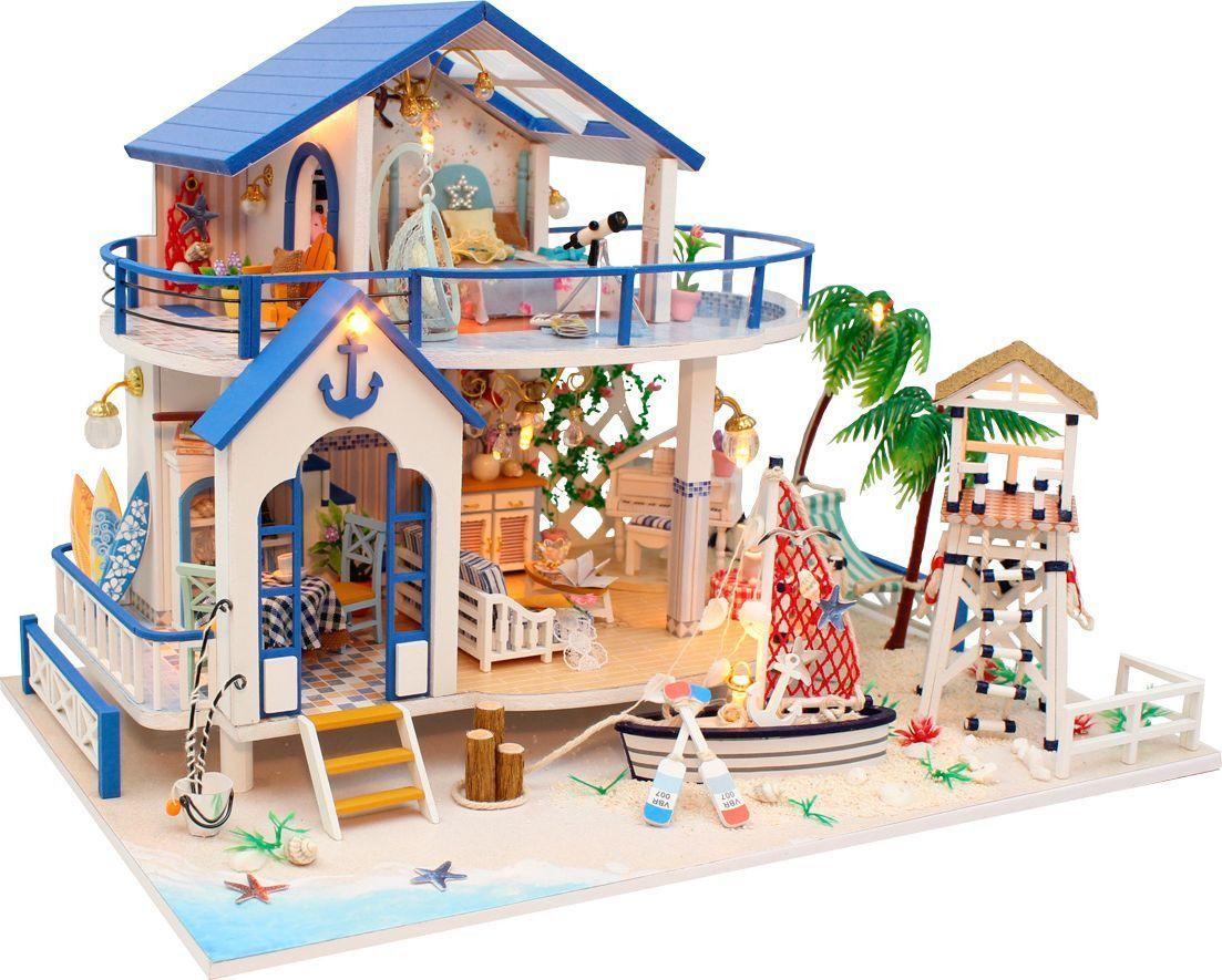 Интерьерный конструктор DIY MINI House Причал румбокс diy house dg12 loft