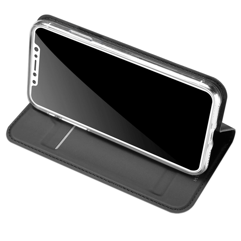 Чехол для сотового телефона Dux Ducis iPhone X / XS, черный чехол клип кейс deppa anycase для apple iphone x красный [140050]