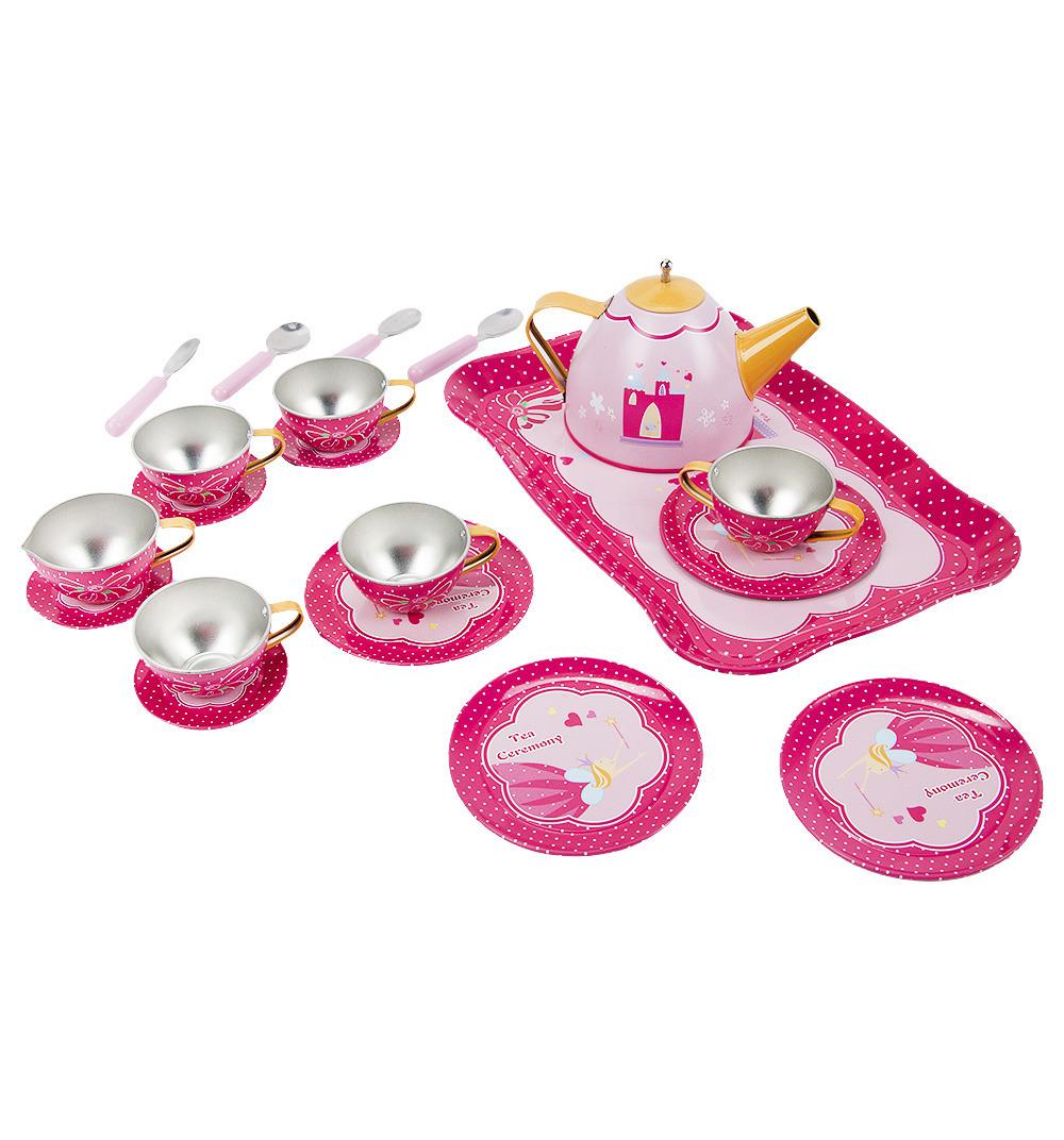 Сюжетно-ролевые игрушки Игруша Набор посуды, CH1058, 21 предмет цена