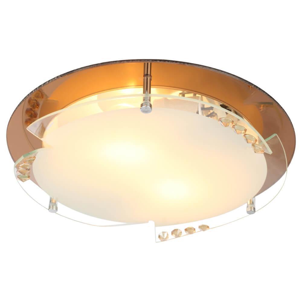 Накладной светильник Globo 48083-2, E27, 60 Вт накладной светильник globo claire 48077