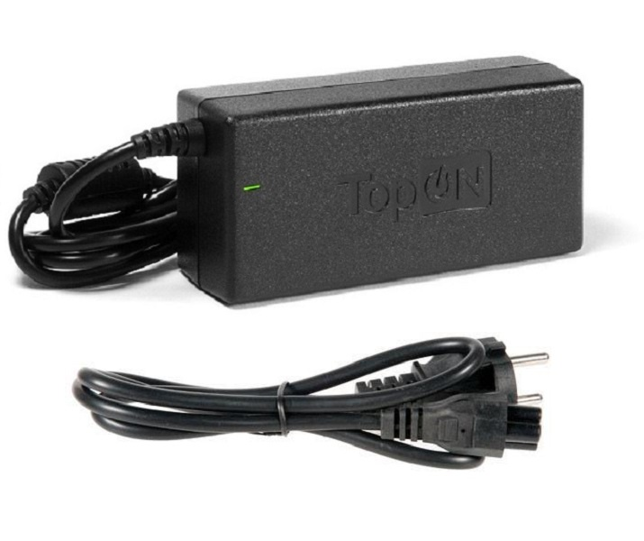 Зарядное устройство для ноутбука TopOn Dell 19V, 6.7A (130W), штекер 7,4 на 5,0 мм с иглой. PN: NADP-130ABD, PA-13