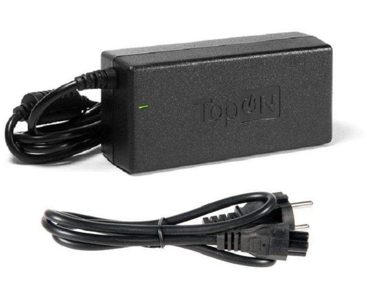 Зарядное устройство для ноутбука TopOn Toshiba 15V, 6A (90W), штекер 6,3 на 3,0 мм. PN: PA2501U, PA2521U адаптер питания topon 90w 15v 6a для toshiba satellite a100 tecra qosmio pa2521 6 3x3 0мм top ts04