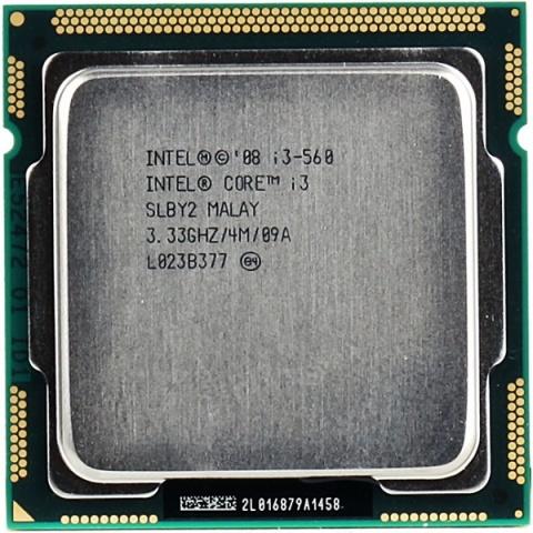 Intel Core i3-560 (3333MHz, LGA1156, L3 4096Kb) intel core i3 3220