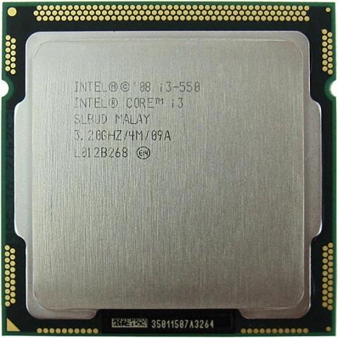 Процессор Intel Core i3-550 Clarkdale (3200MHz, LGA1156, L3 4096Kb) OEM intel core i3 3220