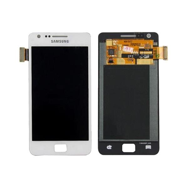 LCD-дисплей с тачскрином для Samsung Galaxy S2 (белый) телефон samsung gt c