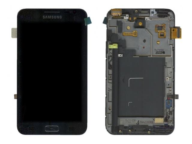 Дисплей для телефонов Дисплей Samsung Galaxy Note N7000 с тачскрином (чёрный) телефон samsung gt c