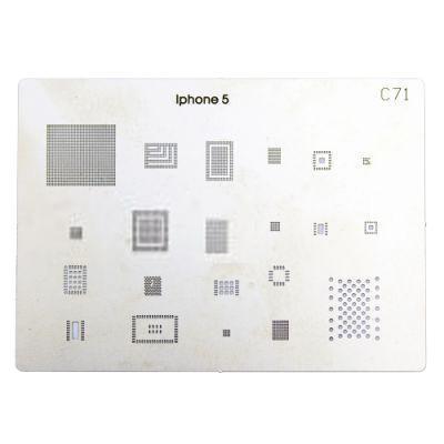Дисплей для телефонов Трафарет BGA C71 для iPhone 5 100% new qg82945gm bga chipset
