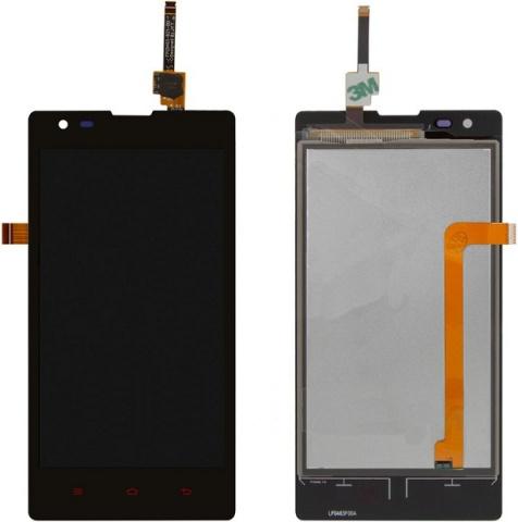 Дисплей для телефонов Дисплей для Xiaomi Red Rice 1S + тачскрин в сборе (чёрный) - оригинал