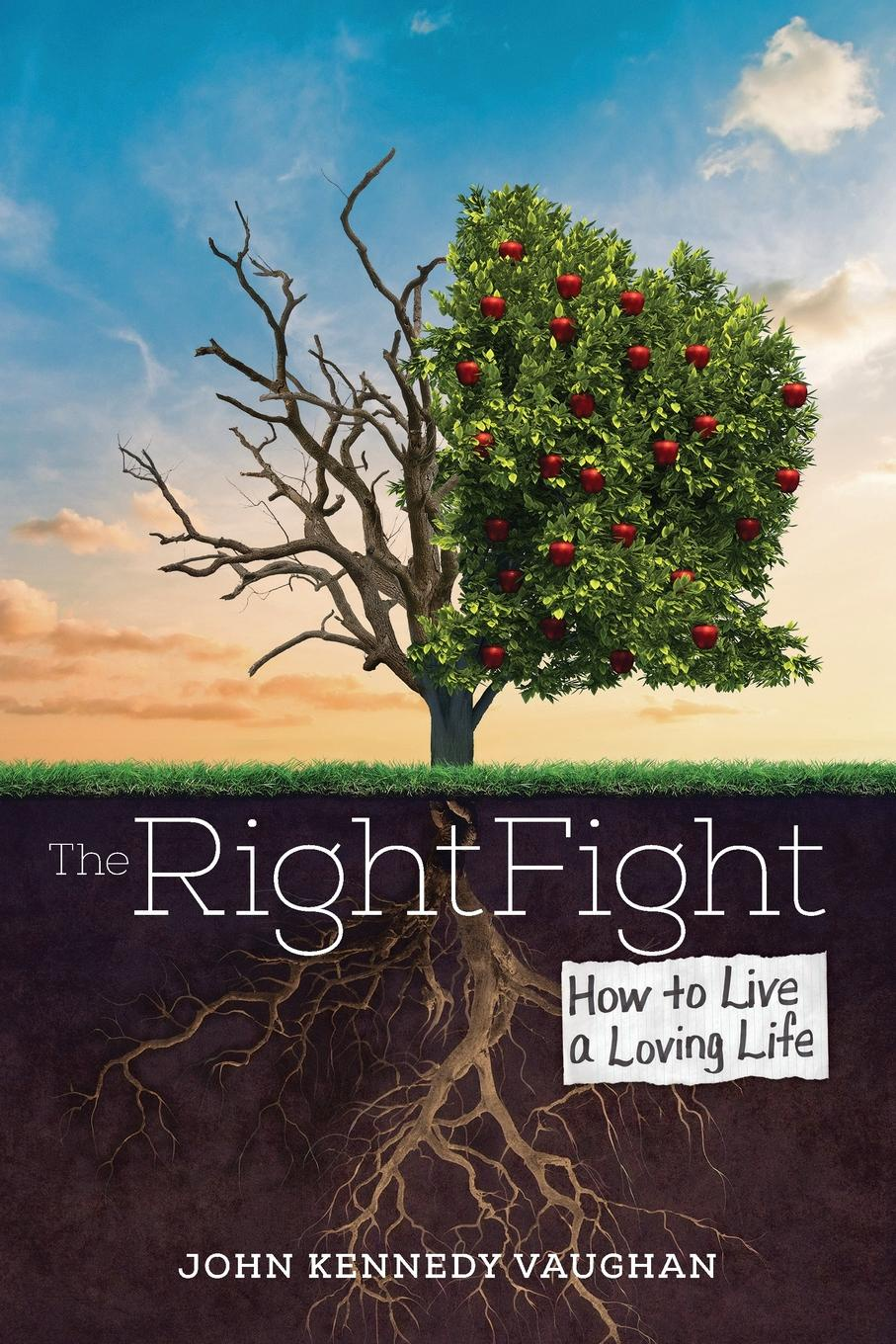 John Kennedy Vaughan The Right Fight. How to Live a Loving Life learning to live the love we promise