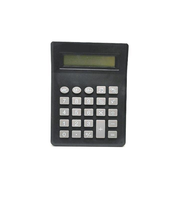 Настольный калькулятор Migliores Настольный, на батарейке, черный