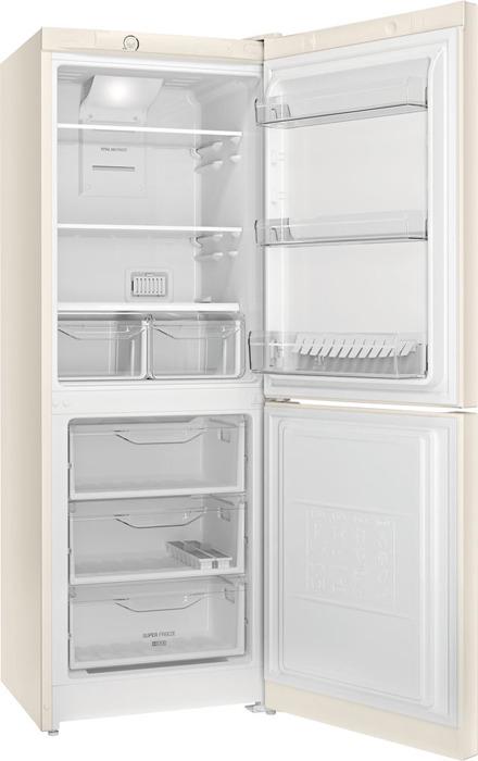 Холодильник Indesit DF 4160 E, двухкамерный, бежевый Indesit