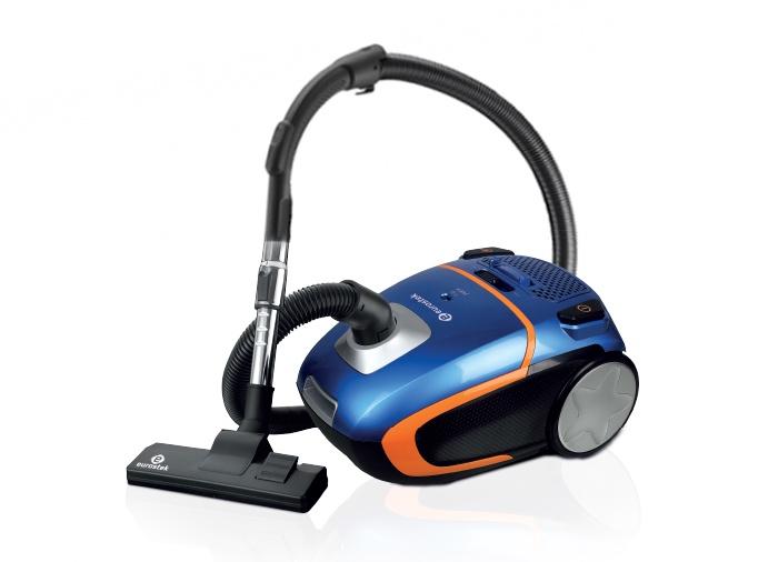 Бытовой пылесос EVC-4007, синий цена