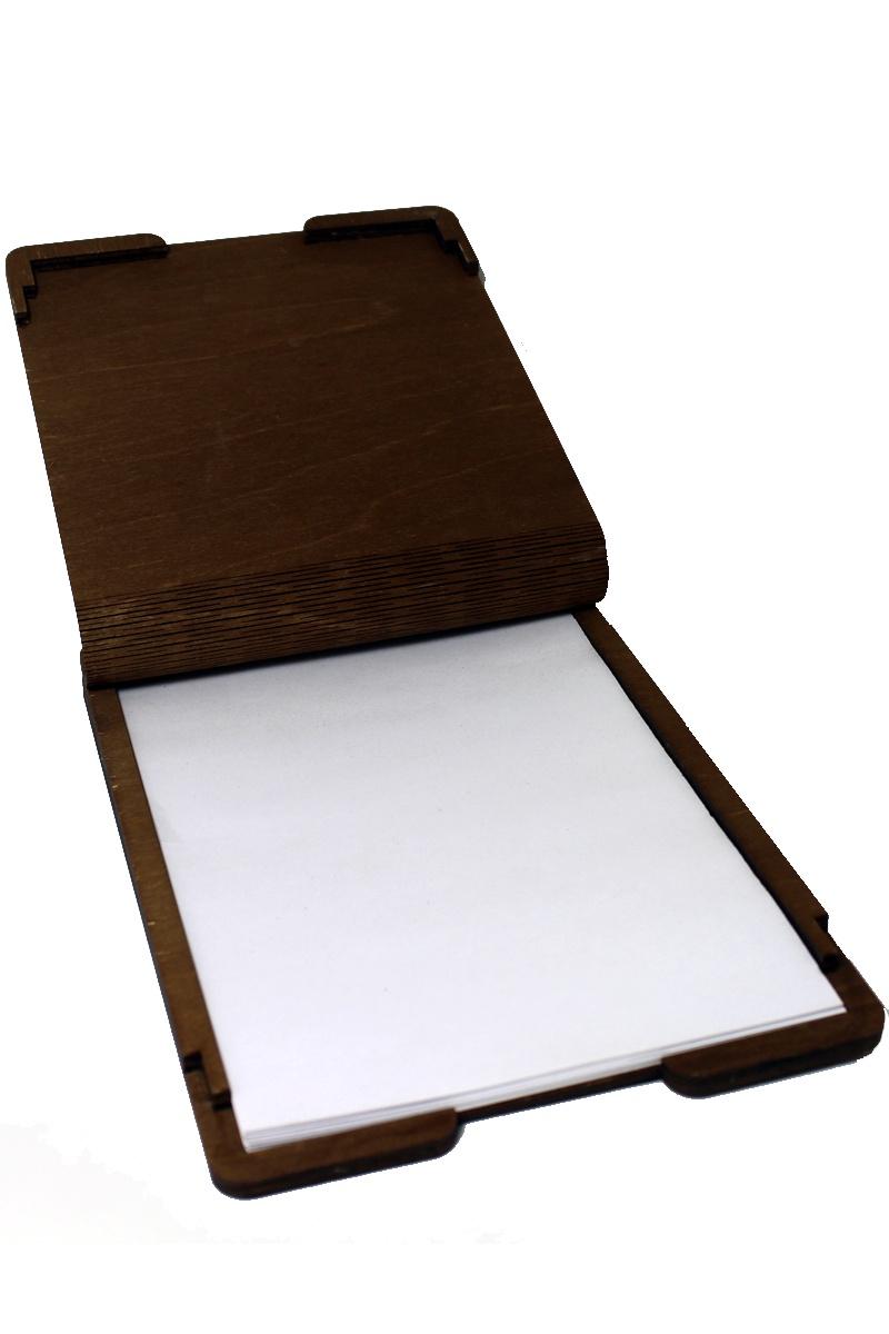 Папка-конверт  А4 as-097, коричневый