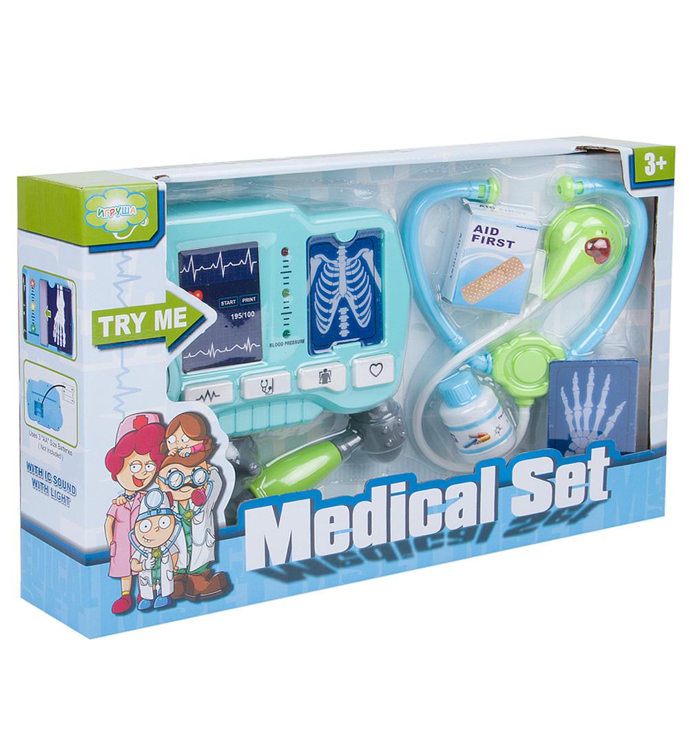 Сюжетно-ролевые игрушки Игруша Доктор, i-ZY473558, 10 шт цена в Москве и Питере