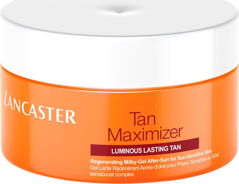 Lancaster After Sun - Tan Maximizer Успокаивающий увлажняющий гель для тела, восстановление после загара для чувствительной кожи, 200 мл lancaster after sun увлажняющий крем для тела после загара after sun увлажняющий крем для тела после загара