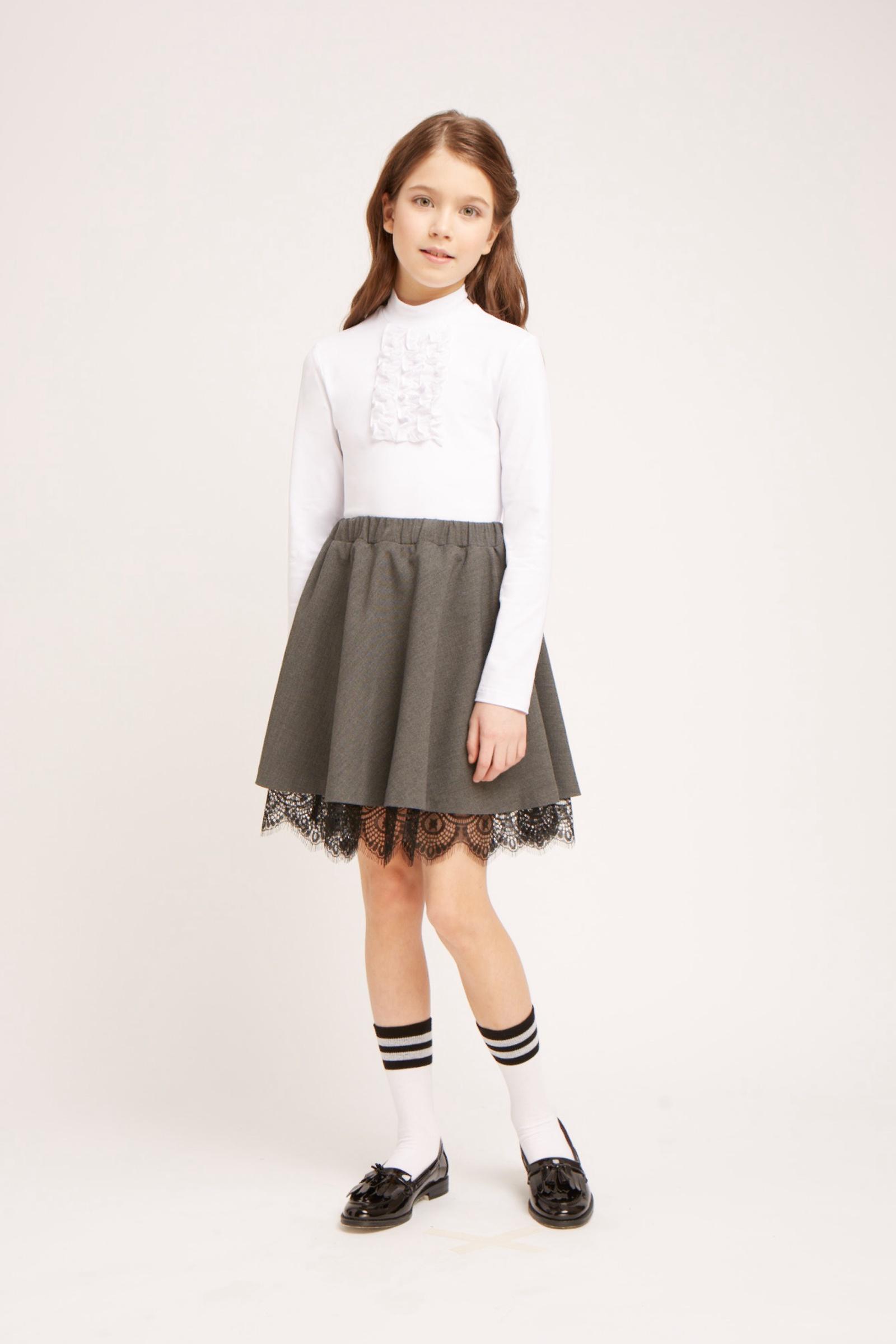 Фото - Блузка Смена блузка для девочки смена цвет белый 16с709 00 размер 158 164