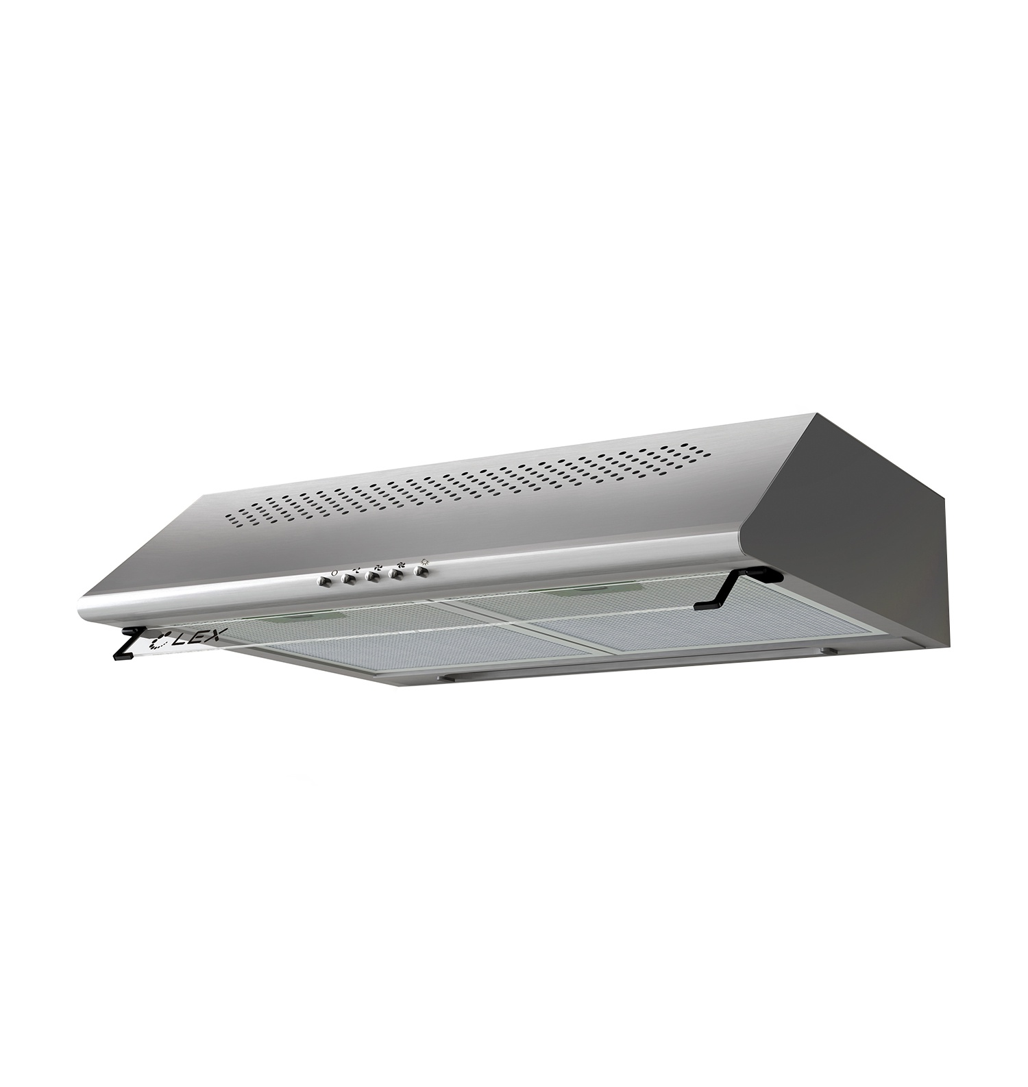 Вытяжка Lex Simple 2M 600 Inox, серый металлик