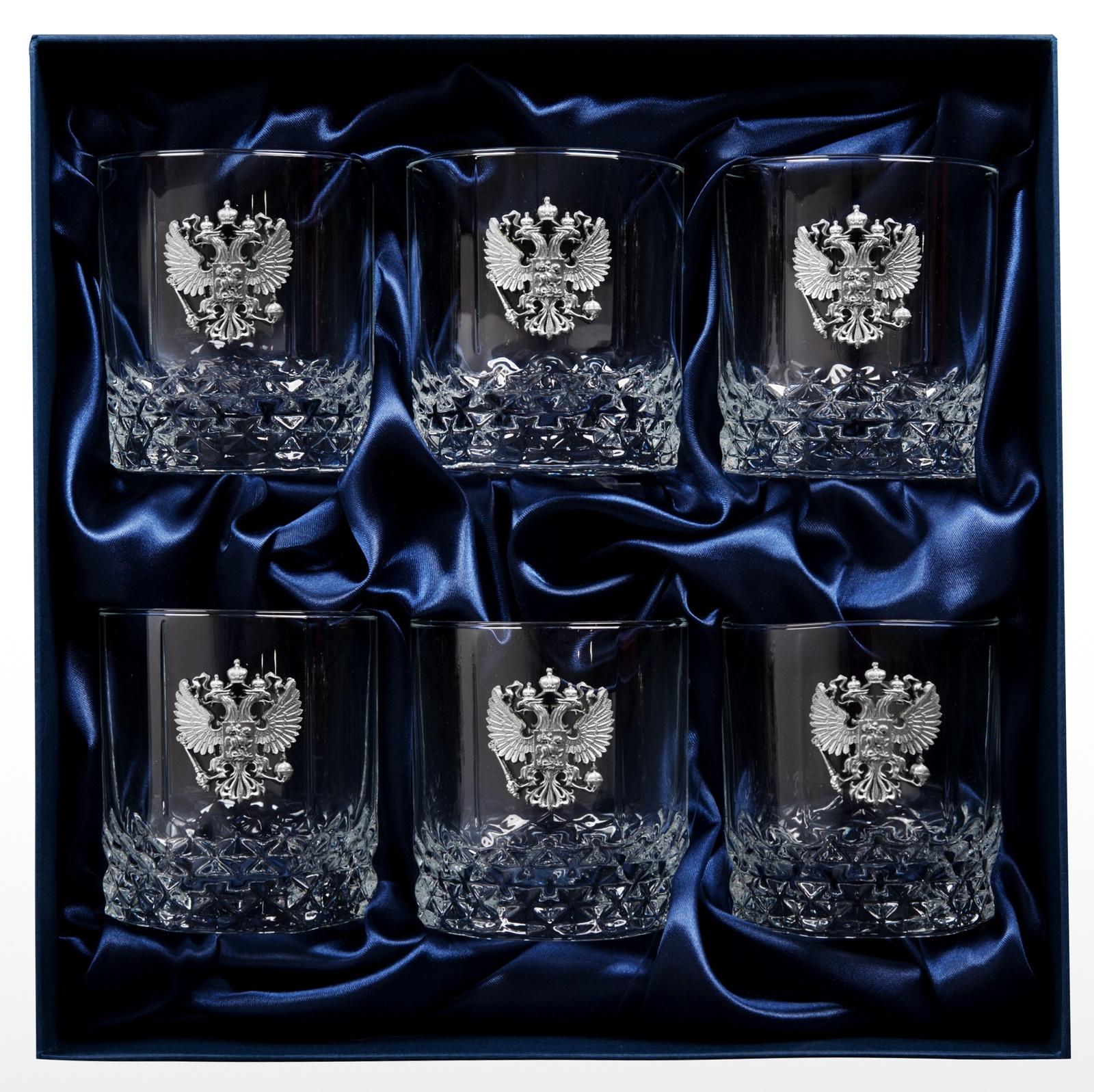 Сувенирный набор Стаканы для виски, Олово коллекционный сувенирный набор стаканов для виски герб россии