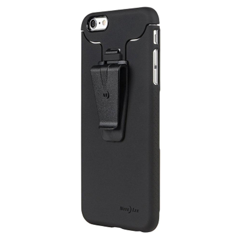 Чехол для сотового телефона NiteIze Connect Case iPhone 6+ Black, черный nite ize niteize connect wallet case для apple iphone 6 6s чехол книжка поликарбонат черный