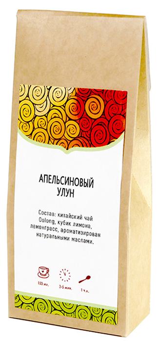 Чай листовой Samovar-Time Апельсиновый улун, 50 г ароматизированный улун тархун 50 г