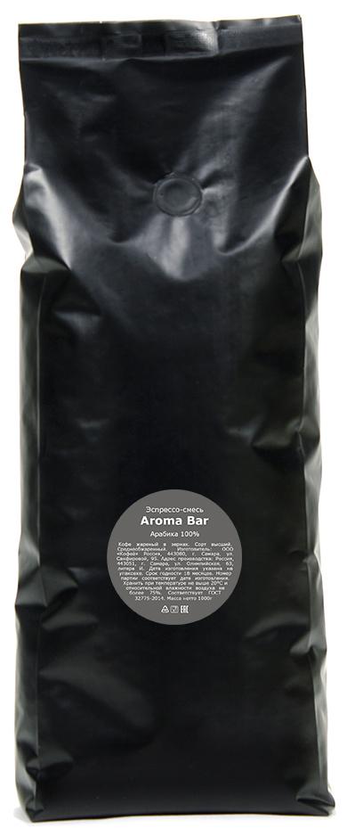 Кофе в зернах Lemur Coffee Roasters Эспрессо-смесь Aroma Bar, 1 кг pausa aroma bar кофе в зернах 1 кг