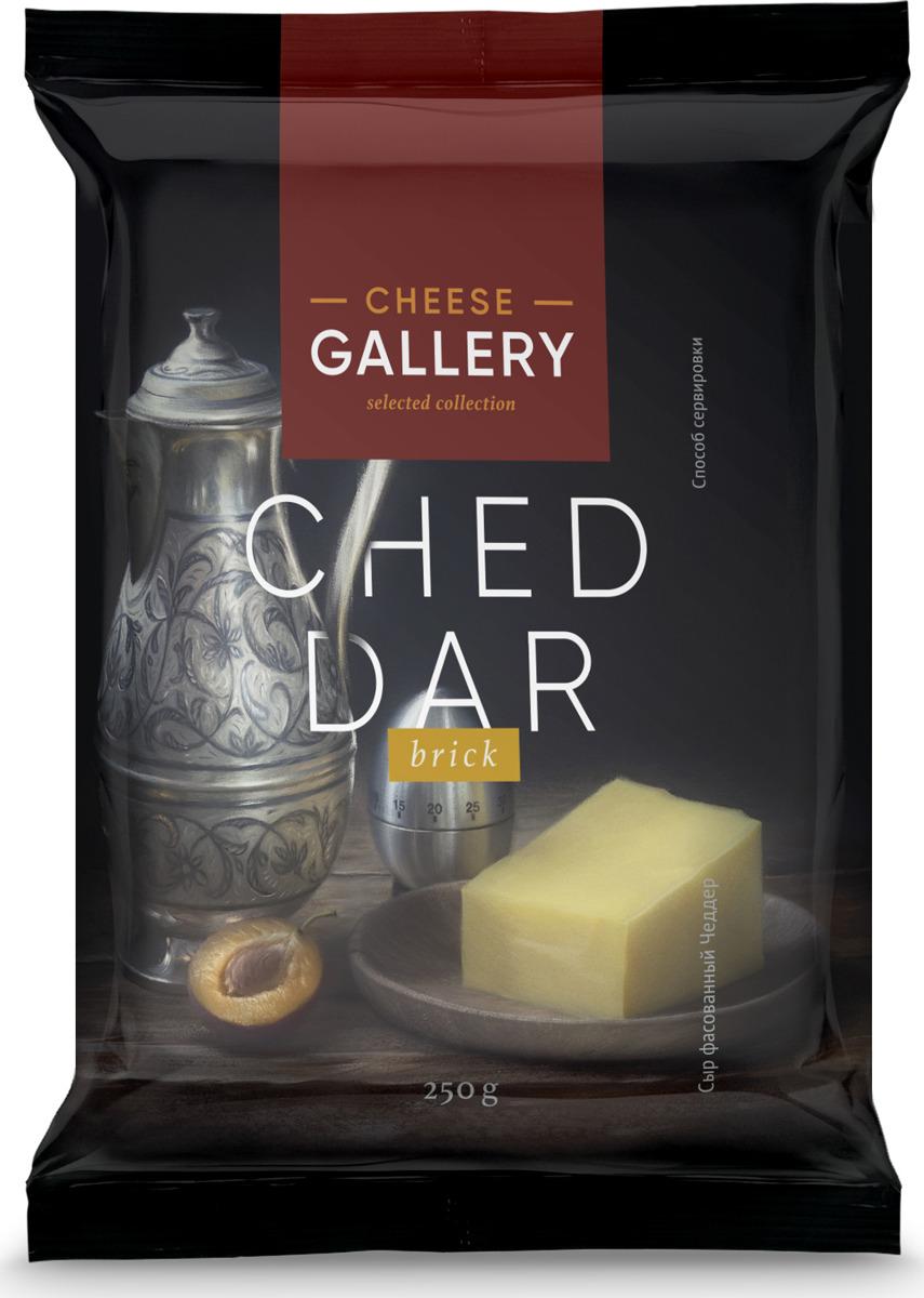 все цены на Cheese Gallery Сыр Чеддер, 50%, 250 г онлайн