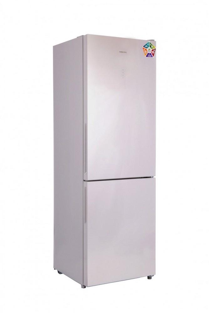 Холодильник HIBERG RFC-311DX NFGS (серебристая глазурь)