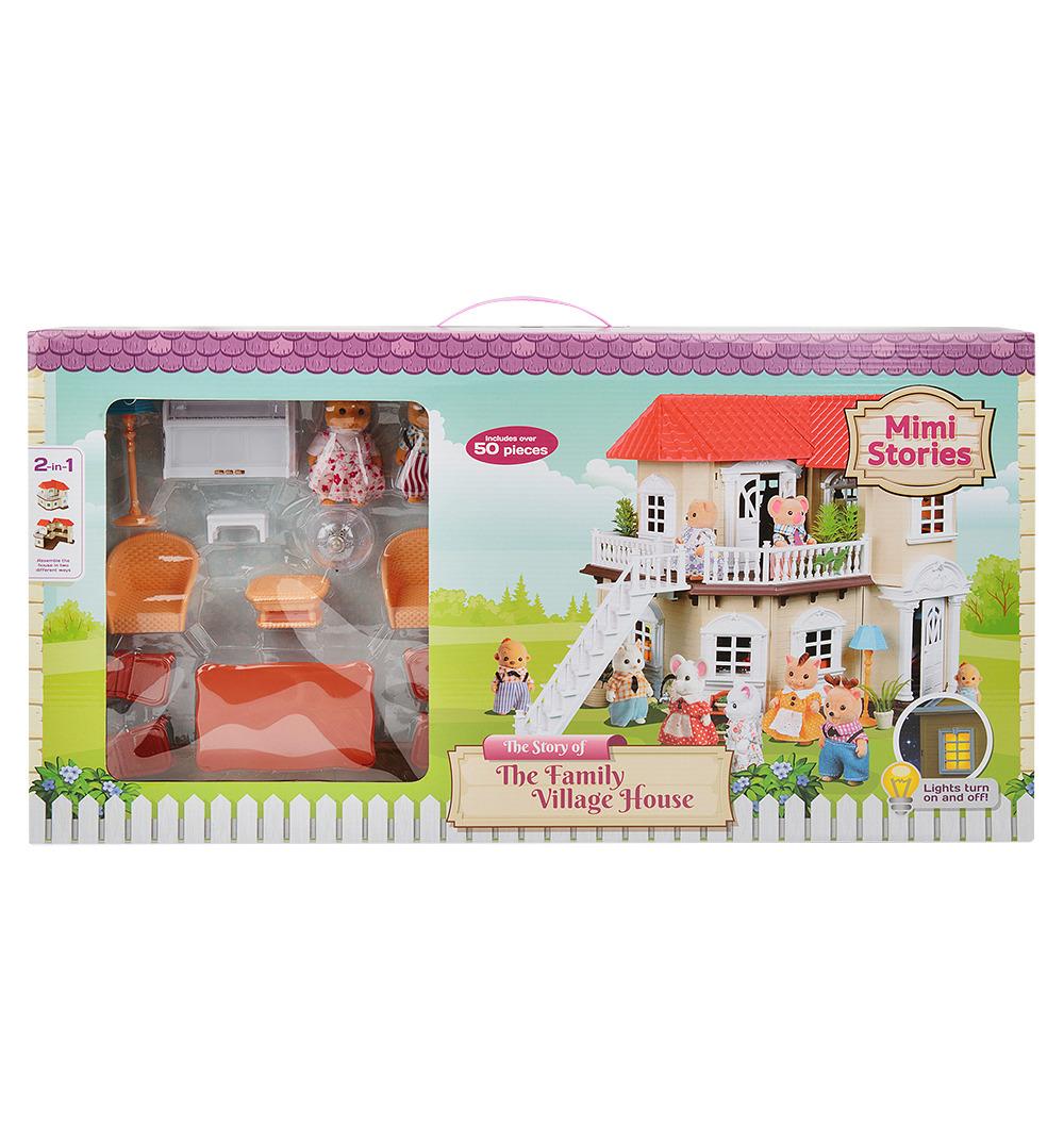 Сюжетно-ролевые игрушки Mimi Stories Домик, MS-100576130