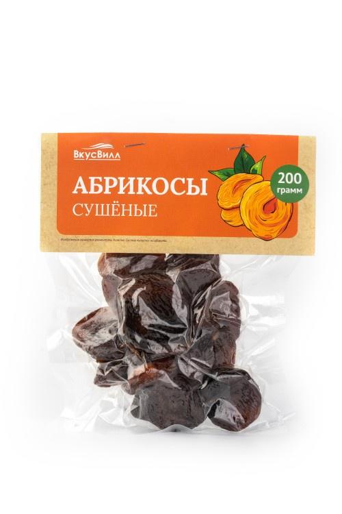 Абрикосы Вкусвилл сушёные, 200 г