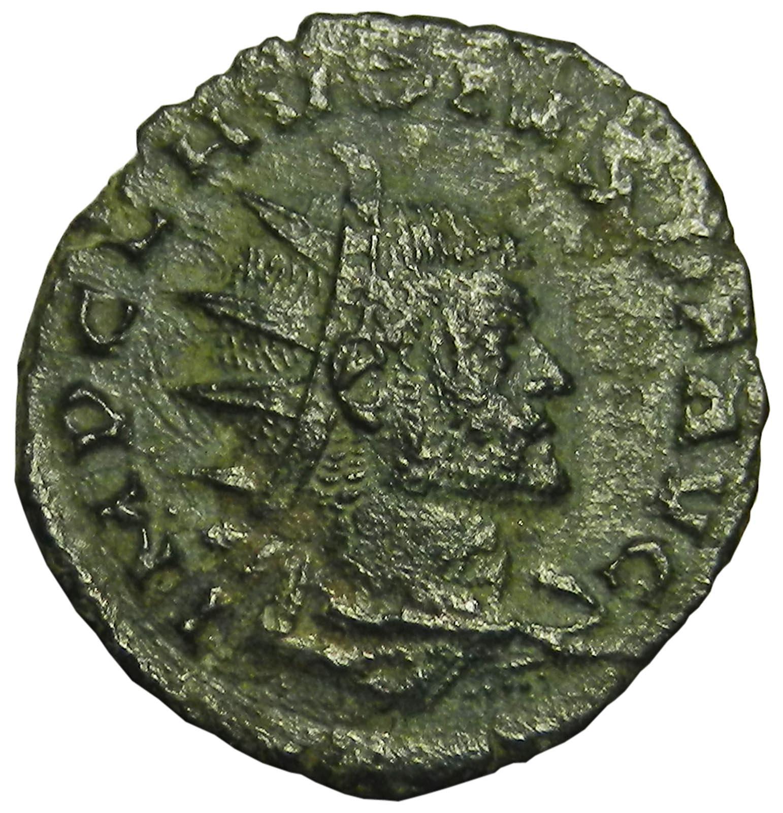 Монета антониниан. Клавдий II Готский. Бронза. Древний Рим, 268 год (Фидес) римская легенда 2019 05 30t19 00