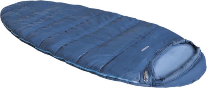 Спальный мешок High Peak Boom, 23110, левосторонняя молния, голубой
