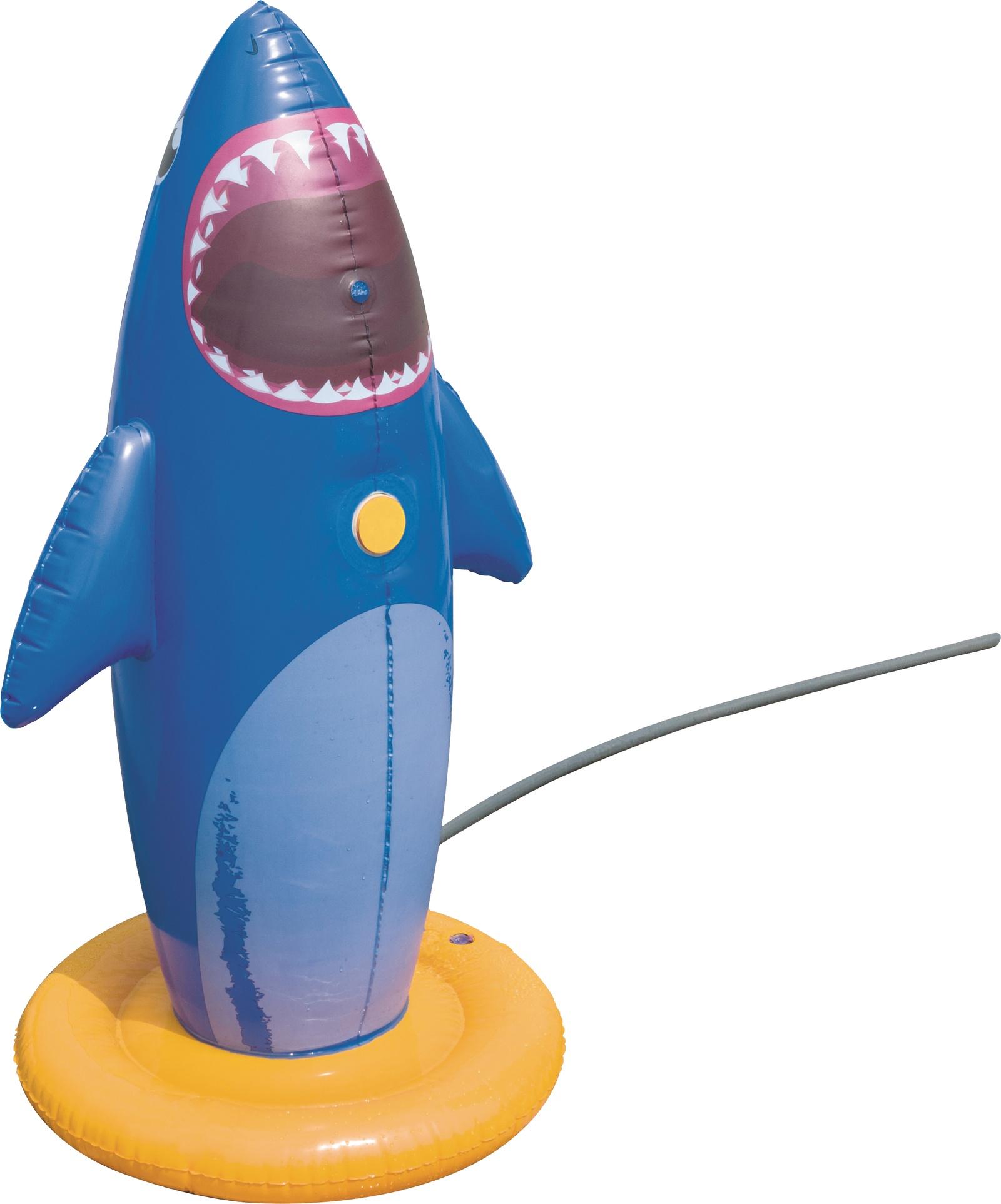 Игрушка - боксёрская груша с брызгалкой Акула 74*74*132 см, Bestway 52246