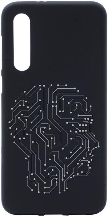 Чехол для сотового телефона GOSSO CASES для Xiaomi Mi 9 SE с принтом, черный