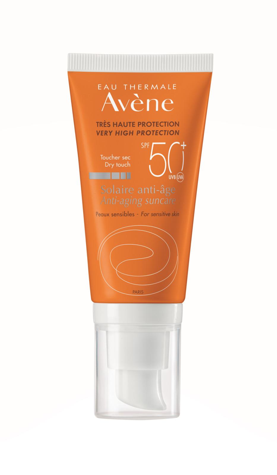 Avene Крем антивозрастной солнцезащитный SPF50+, 50 мл крем от загара avene 50