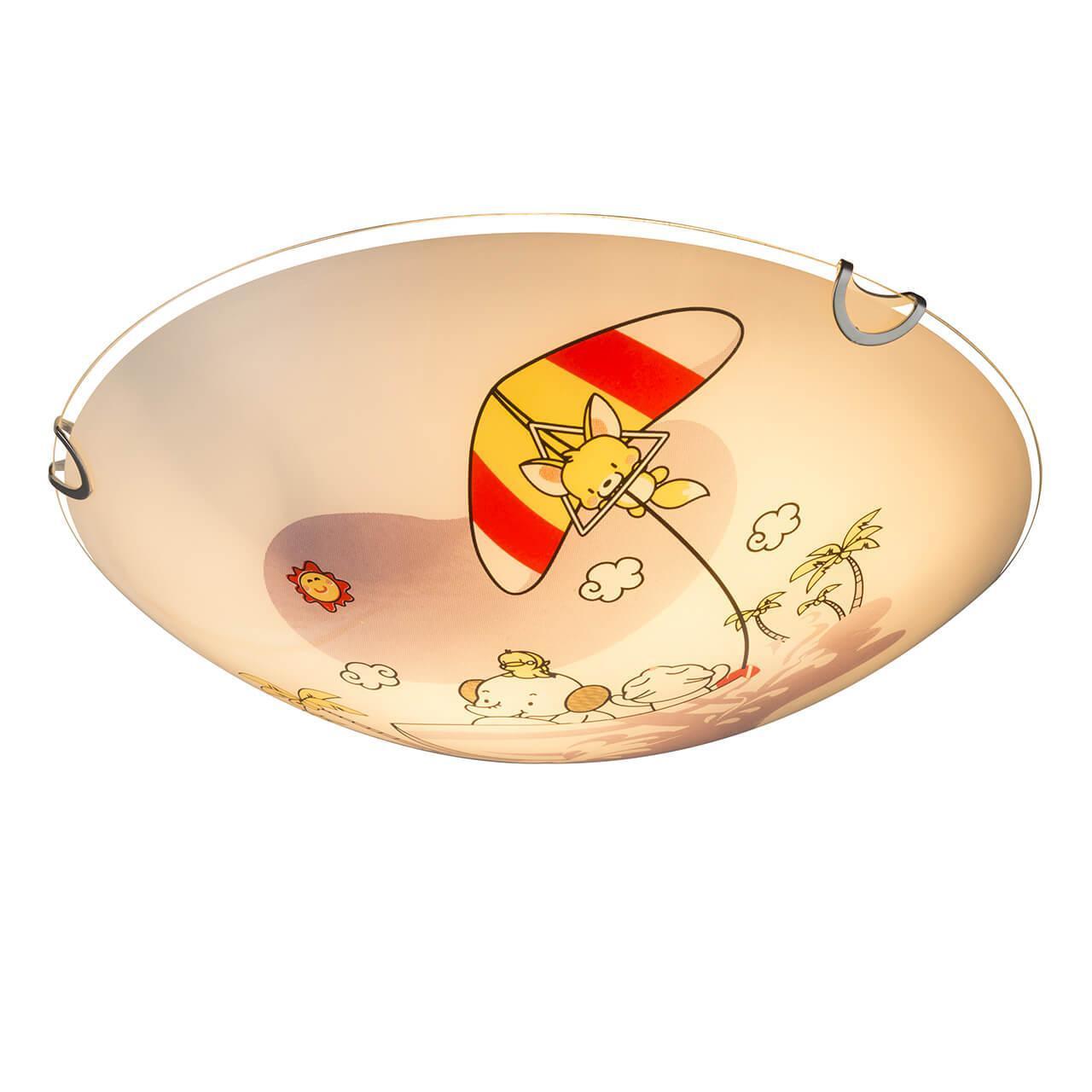 Настенно-потолочный светильник Globo 40608, E27, 60 Вт настенно потолочный светильник globo new 56223 3 серый металлик