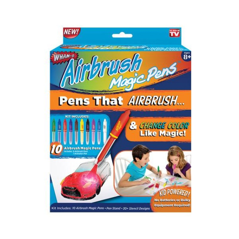 Набор фломастеров  Airbrush Magic Pens меняющие цвет