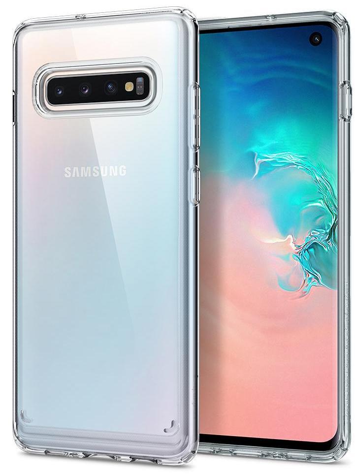 Чехол для сотового телефона SGP Ultra Hybrid для Galaxy S10, прозрачный цены онлайн