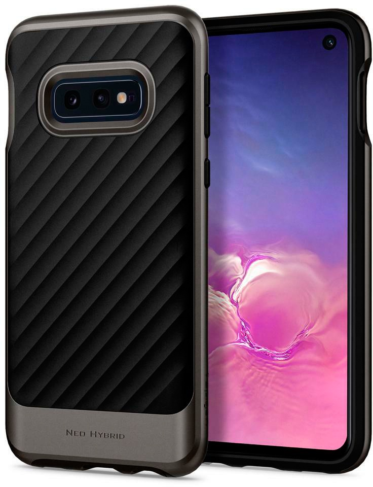 Чехол для сотового телефона SGP Neo Hybrid для Galaxy S10e, серый spigen neo hybrid 562cs20568 чехол для samsung galaxy note 7 gunmetal