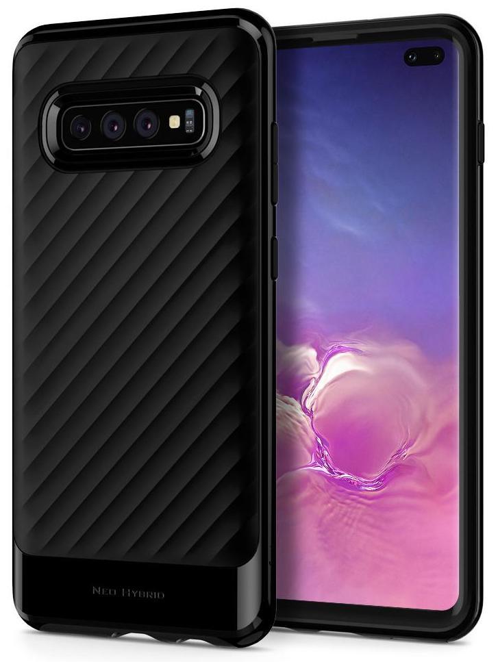 Чехол для сотового телефона SGP Neo Hybrid для Galaxy S10+, черный аксессуар чехол spigen sgp neo hybrid metal series для iphone 6 plus 5 5 inch champagne sgp11071