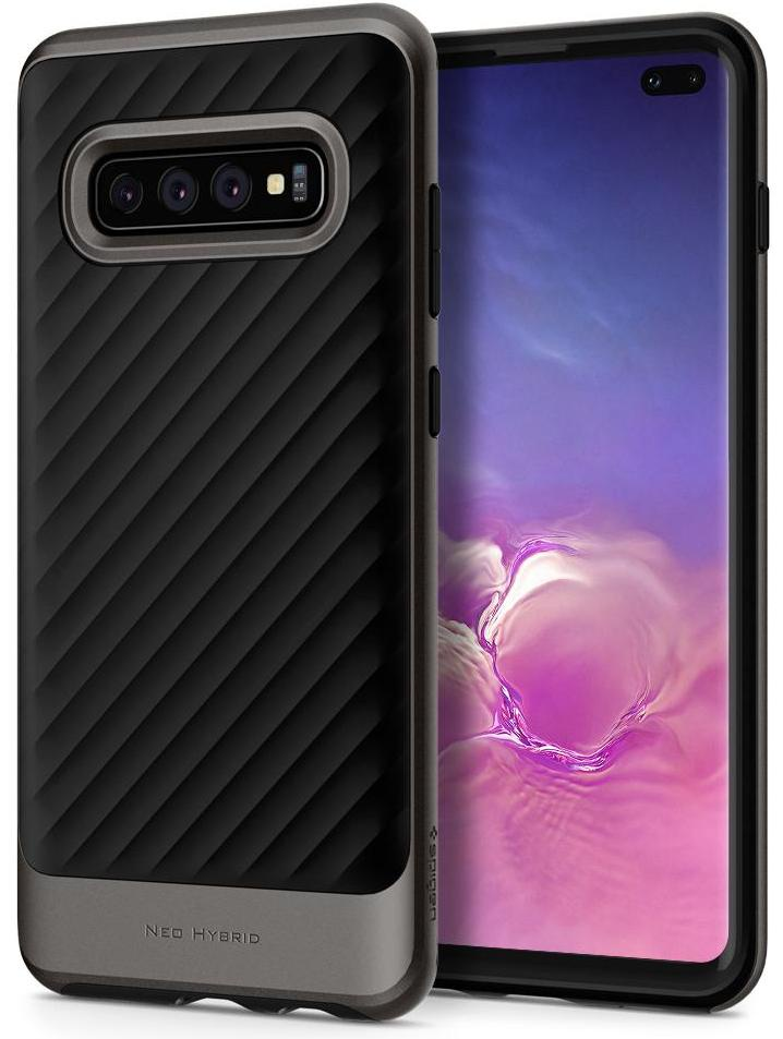 Чехол для сотового телефона SGP Neo Hybrid для Galaxy S10+, серый аксессуар чехол spigen sgp neo hybrid metal series для iphone 6 plus 5 5 inch champagne sgp11071