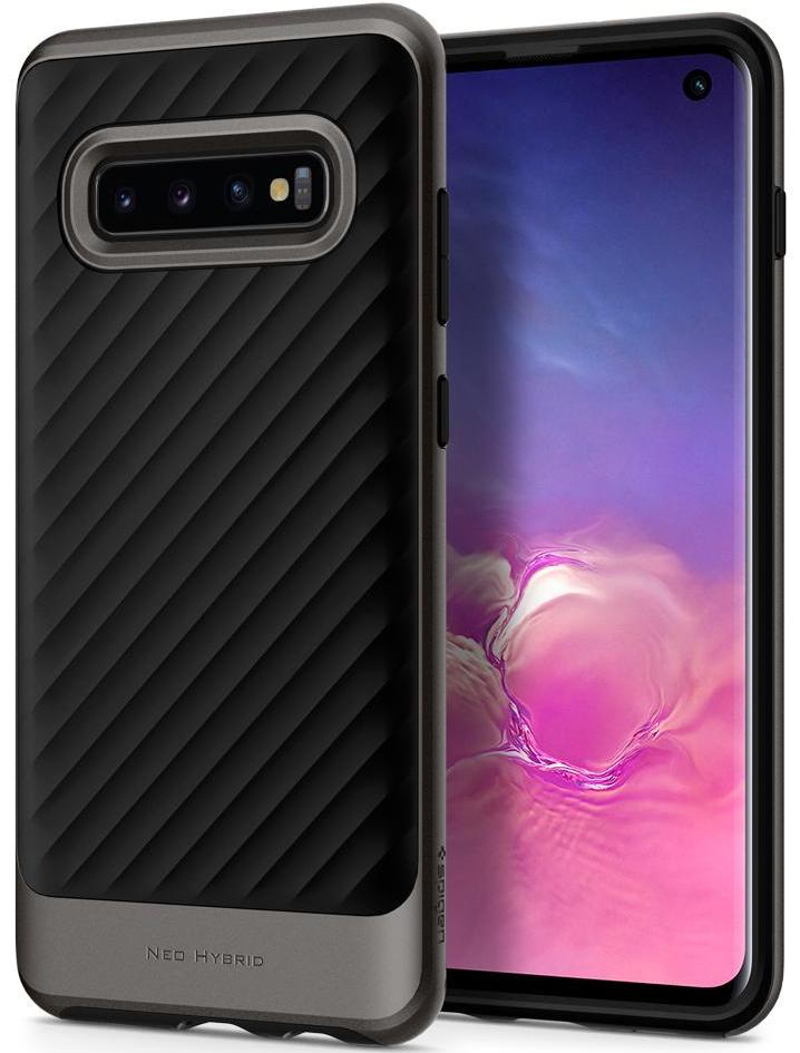 Чехол для сотового телефона SGP Neo Hybrid для Galaxy S10, серый spigen neo hybrid 562cs20568 чехол для samsung galaxy note 7 gunmetal