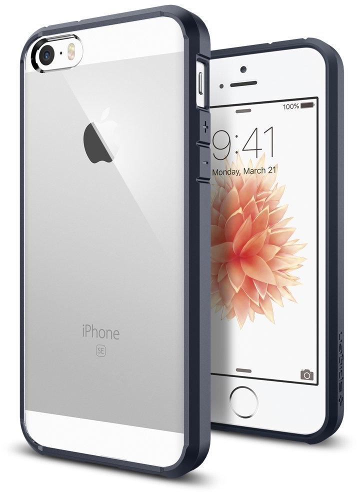 Чехол для сотового телефона SGP Ultra Hybrid для iPhone 5/5s/SE, серый чехол для apple iphone 6 6s sgp ultra hybrid metal slate